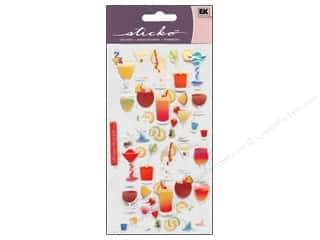 EK Sticko Stickers Cocktails