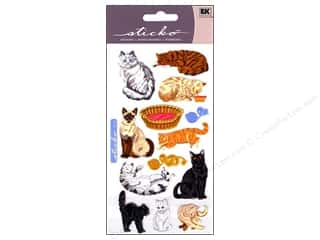 die cuts: EK Sticko Stickers Cat Craze