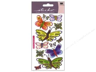 Sticko Vellum Stickers - Butterflies