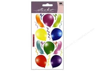 Sticko Vellum Stickers - Balloons