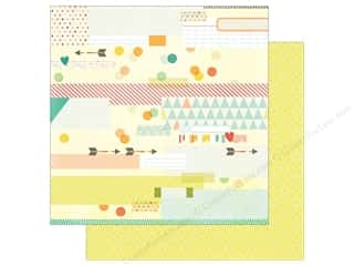 Simple Stories: Simple Stories 12 x 12 in. Paper Summer Vibe Sun Kissed (25 sheets)