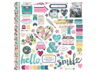 Simple Stories So Fancy Collection Sticker Fundamentals Picture
