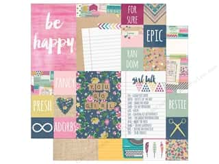 "Simple Stories So Fancy Collection Paper 12""x 12"" Element Assorted Picture"