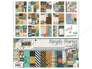 Projects & Kits: Simple Stories 12 x 12 in. Collection Kit So Rad