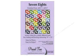 Pieceful Designs: Pieced Tree Tiny Seven Eights Pattern