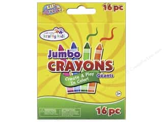 Crayons: Multicraft Krafty Kids Crayons Jumbo 16pc