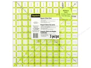 ruler: Omnigrid Omnigrip Ruler Combo Pack 3 pc.
