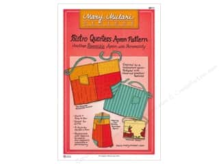 Table Runners / Kitchen Linen Patterns: Mary Mulari Bistro Quarters Apron Pattern