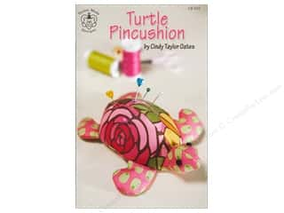 home decor pattern: Taylor Made Turtle Pincushion Pattern