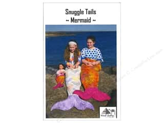 books & patterns: Wendt Quilting Snuggle Tails Mermaid Pattern