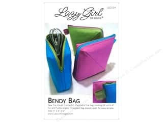 Tote Bags / Purses Patterns: Lazy Girl Bendy Bag Pattern