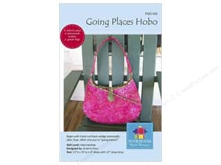 Tote Bags / Purses Patterns: Poorhouse Quilt Design Going Places Hobo Pattern