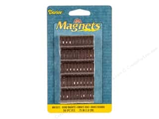 craft & hobbies: Darice Round Magnets 3/4 in. 50 pc.