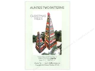 Aunties Two Christmas Trees Pattern