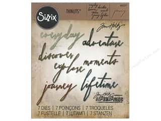 dies: Sizzix Thinlits Die Set 7 pc. Handwritten Journey