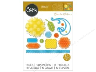 dies: Sizzix Thinlits Die Set 13 pc. Daisy Bouquet