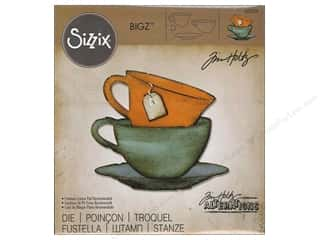 Sizzix Dies Tim Holtz Bigz Tea Time