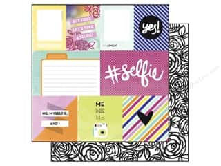 Echo Park 12 x 12 in. Paper #Selfie Collection Journaling Cards (15 sheets)