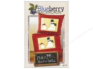 Clearance: Blueberry Backroads Play Snowball Pattern