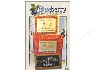 Blueberry Backroads Snowflake Kisses Pattern