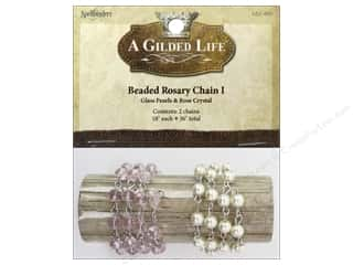 Beading & Jewelry Making Supplies: Spellbinders A Gilded Life Beaded Rosary Chain I