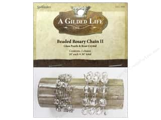 beading & jewelry making supplies: Spellbinders A Gilded Life Beaded Rosary Chains II