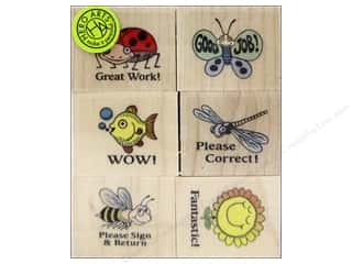 Clearance Art Impressions Rubber Stamp: Hero Arts Rubber Stamp Set Words Of Encouragement