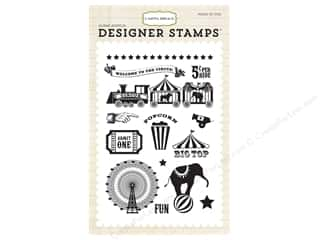 admit: Carta Bella Designer Stamps Circus Party Big Top