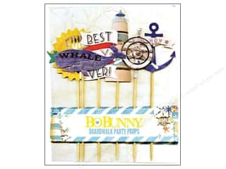 scrapbooking & paper crafts: Bo Bunny Party Props 6 pc. Boardwalk
