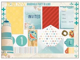 craft & hobbies: Bo Bunny Party In A Box Boardwalk