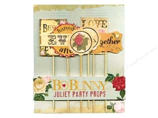 scrapbooking & paper crafts: Bo Bunny Party Props 6 pc. Juliet