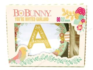 scrapbooking & paper crafts: Bo Bunny Garland Box Set You're Invited