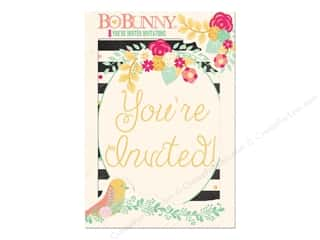 Bo Bunny Invitations 8 pc. You're Invited
