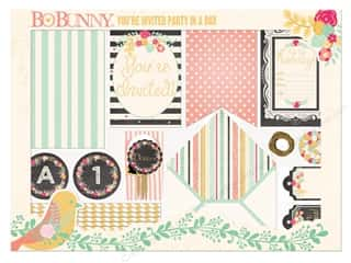 scrapbooking & paper crafts: Bo Bunny Party In A Box You're Invited