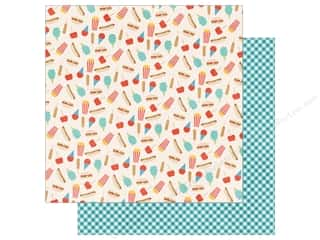 Echo Park Paper Company: Echo Park 12 x 12 in. Paper A Fair To Remember Collection Fair Food (15 sheets)
