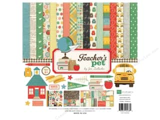 Weekly Specials Echo Park Collection Kit: Echo Park 12 x 12 in. Collection Kit Teachers Pet