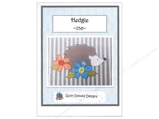 books & patterns: Quilt Doodle Designs Hedgie Pattern