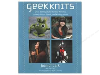 knitting books: St Martin's Griffin Geek Knits Book