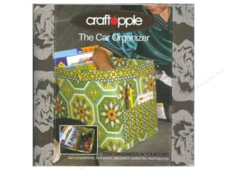 Tote Bags / Purses Patterns: Craft Apple The Car Organizer Pattern