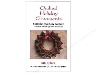 home decor pattern: Kits By Kalt Quilted Holiday Ornaments The Starry Night Pattern