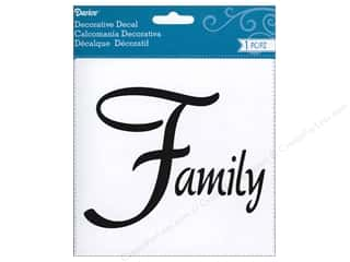 scrapbooking & paper crafts: Darice Decorative Decal 5 1/2 x 4 1/4 Family