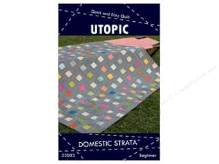 books & patterns: Domestic Strata Utopic Quilt Pattern