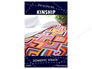 Quilt Pattern: Domestic Strata Kinship Quilt Pattern