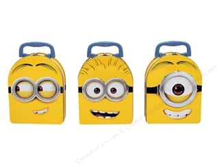 craft & hobbies: Tin Box Co Arch Shape Carry All Minions 1 pc.