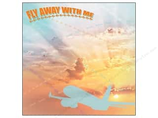 Paper House 12 x 12 in. Paper World Travel Fly Away with Me (25 sheets)