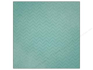 paper blue: Paper House 12 x 12 in. Paper Family Vacation Teal Chevrons (25 sheets)