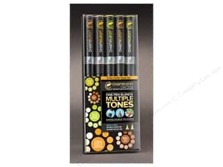 Spring Pen Sets: Chameleon Color Tone Pen Set 5 pc. Earth Tones