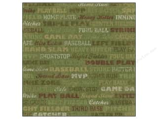 Karen Foster: Karen Foster Paper 12 x 12 in. Baseball Grand Slam (25 sheets)