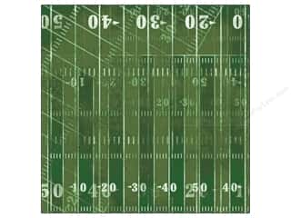 patterned paper: Karen Foster Paper 12 x 12 in. Football 1st & 10 (25 sheets)