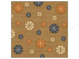 Karen Foster: Karen Foster Paper 12 x 12 in. Basketball Pattern (25 sheets)